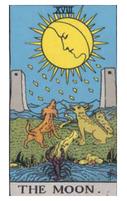 Moon Tarot Card Meaning
